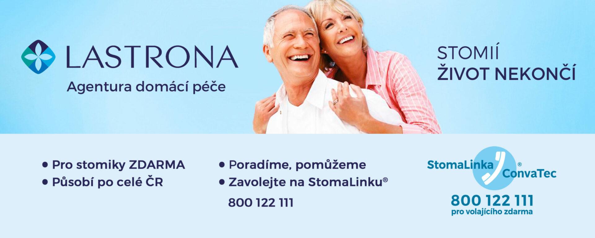 Banner: LASTRONA – Agentura domácí péče pro stomiky